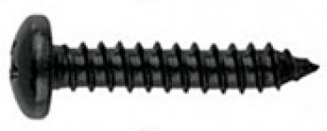 Blechschrauben 4,8 mm DIN 7981 4,8 x 16 Kreuzschlitz Edelstahl V2A 25 Stk