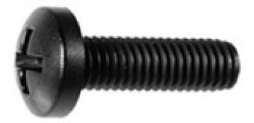A2 Edelstahl 25, M3x20 mm DIN 7985 Kreuzschlitz Kreuz Linsenkopfschrauben 25 St/ück Linsenkopf Schrauben M3x20 mm V2A