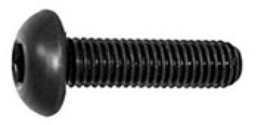 ISR - Flachkopfschrauben mit Flansch u D/´s Items/® Innensechsrund Zaunbauschrauben Edelstahl A2 - Linsenkopfschrauben mit Bund V2A ISO 7380 20 St/ück Flanschschrauben - M6x40