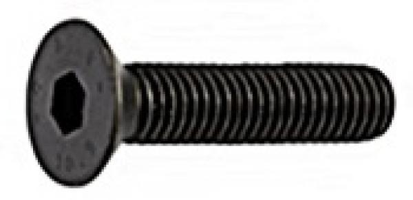 Senkkopfschrauben DIN 7991 Edelstahl A2 SCHWARZ M1,6-M6 versandkostenfrei