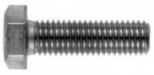 10 Stk Sechskantschraube DIN 933 8.8 M6 x 140 verzinkt
